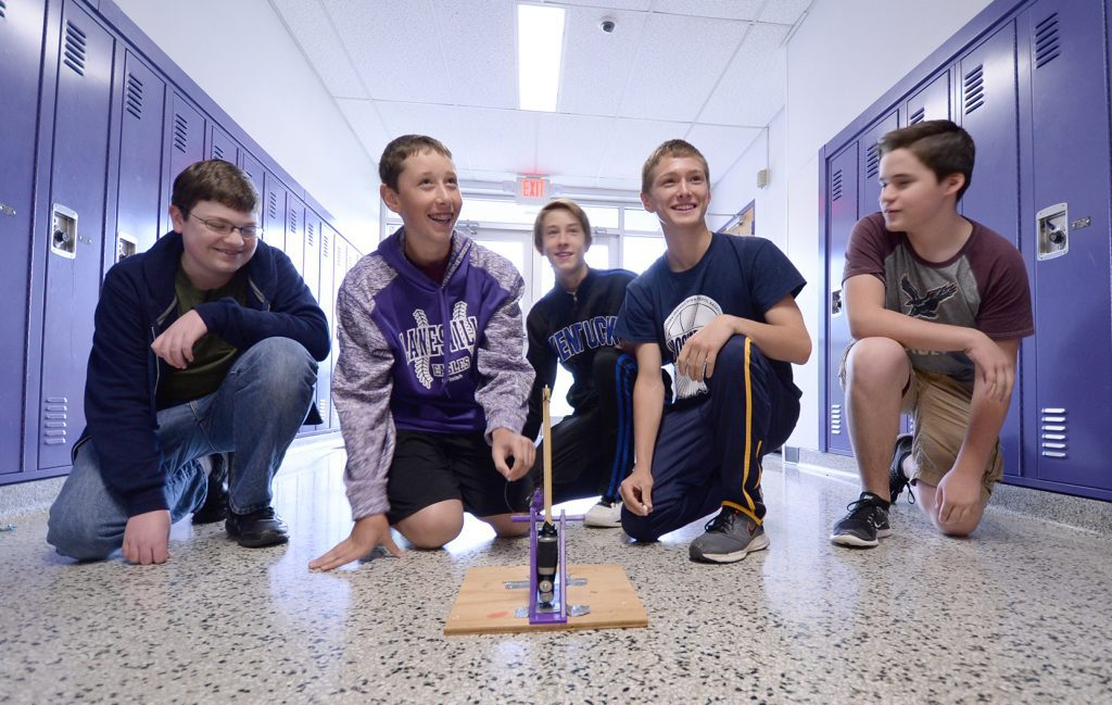 High School Students and Catapult 5 rgb