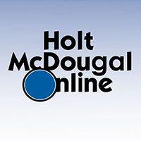 holt-mcdougal-online